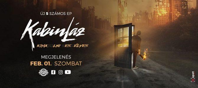 KabinLáz – Új EP jelenik meg február 1-jén