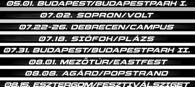 Eleven 11 – Teljessé vált a Tankcsapda idei magyarországi turnénaptára