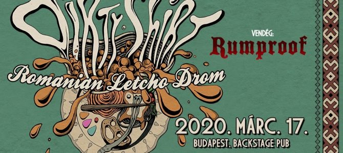 Dirty Shirt: márciusban újra Budapesten lép fel a román hardcore/folk metal zenekar