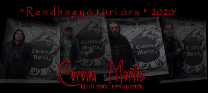 Ezt is koronamortizátuk – a Corona Mortis zenekar új albuma
