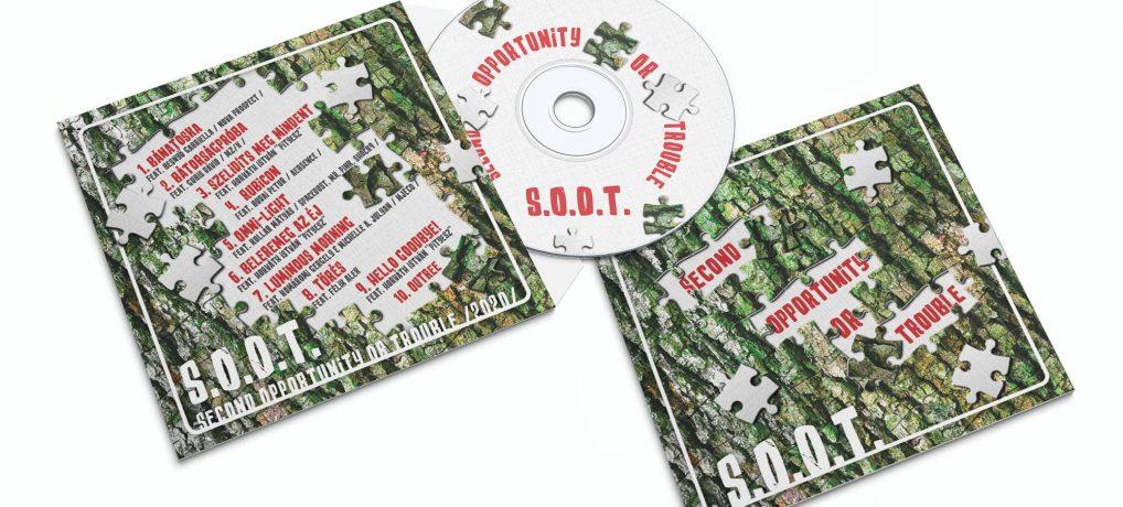 A S. O. O. T. zenekar legújabb lemeze már fizikai formában is elérhető!