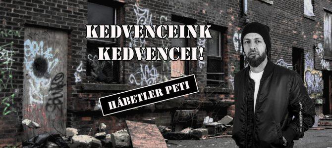 Kedvenceink kedvencei – Hábetler Péter ( Velvet Blade)