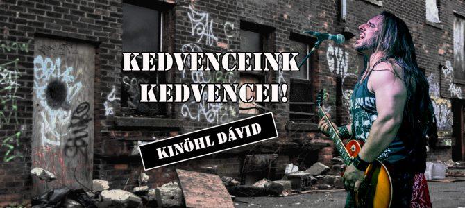 Kedvenceink kedvencei – Kinöhl Dávid (Red Rockets)
