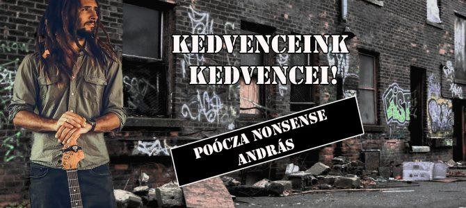 Kedvenceink kedvencei – Poócza Nonsense András