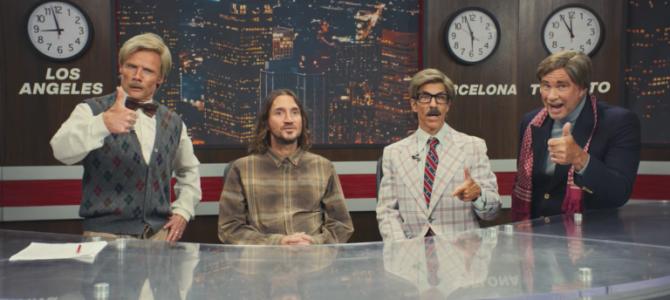 Red Hot Chilli Peppers: világ körüli turné